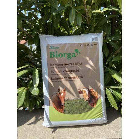 Fumier composté Bio organique