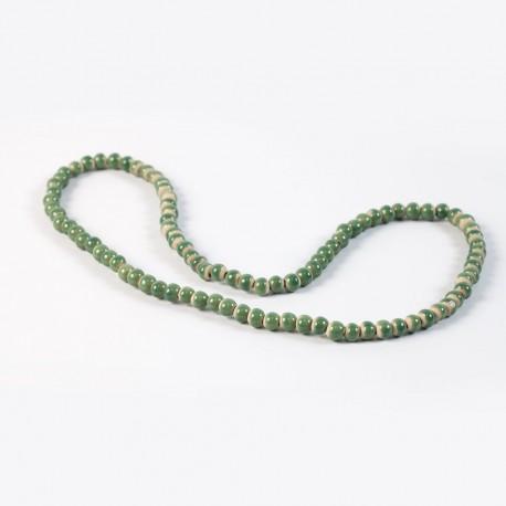 Collier en céramique EM vert